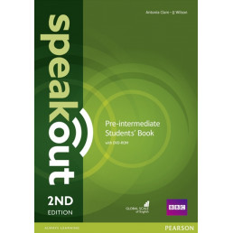 Підручник Speakout 2nd Edition Pre-Intermediate Student's Book with DVD-ROM