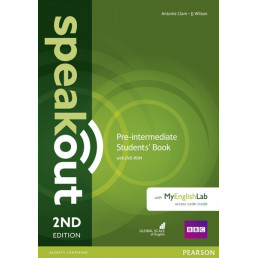 Підручник Speakout 2nd Edition Pre-Intermediate Student's Book with DVD-ROM and MyEnglishLab