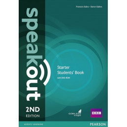 Підручник Speakout 2nd Edition Starter Student's Book with DVD-ROM