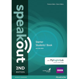 Підручник Speakout 2nd Edition Starter Student's Book with DVD-ROM and MyEnglishLab