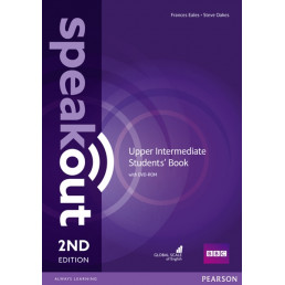 Підручник Speakout 2nd Edition Upper-Intermediate Student's Book with DVD-ROM