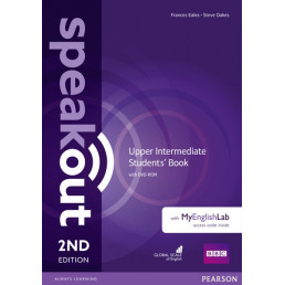 Підручник Speakout 2nd Edition Upper-Intermediate Student's Book with DVD-ROM and MyEnglishLab