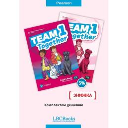 Комплект: Підручник і зошит Team Together 1 Pack
