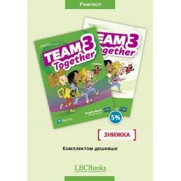 Комплект: Підручник і зошит Team Together 3 Pack