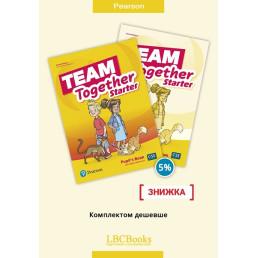 Комплект: Підручник і зошит Team Together Starter Pack