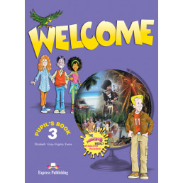 Підручник Welcome 3 Pupil's Book