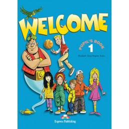 Підручник Welcome 1 Pupil's Book with Alphabet Book