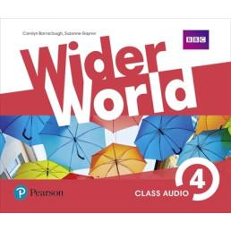 Аудіо диск Wider World 4 Class CD