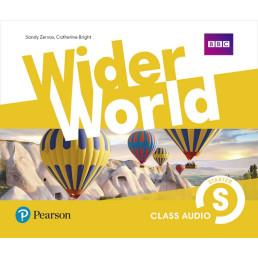Аудіо диск Wider World Starter Class CD