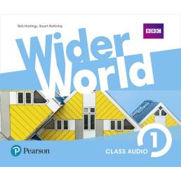 Аудіо диск Wider World 1 Class CD