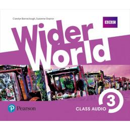 Аудіо диск Wider World 3 Class CD