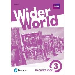 Книга вчителя Wider World 3 Teacher's Book