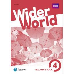 Книга вчителя Wider World 4 Teacher's Book