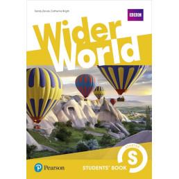 Підручник Wider World Starter Student's Book